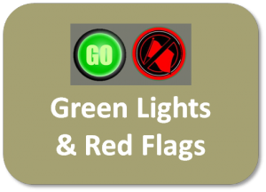 Green Lights & Red Flags