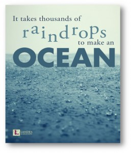 Thousands of Raindrops Poster