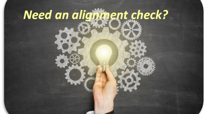 Need an alignment check?
