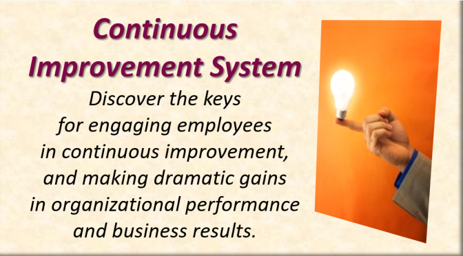 Continuous Improvement System