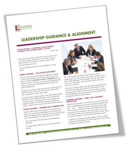 Download Leadership Guidance and Alignment Info Sheet